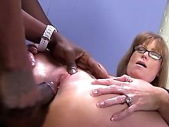 Sexy Cougar Darla Crane Gets Ass-fuck From Big Bl