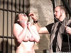 Subjugated Bosomy Whore Alora Lux Is Worth Tying And Some Sport In Hard Mode