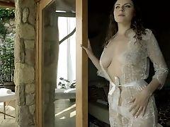 Whorish Prettily Shaped Honey Sofia Curly Chooses Ass-fuck Fuck Instead Of Rubdown