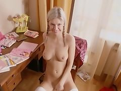 Hot Russian Honey Rails A Fuck Stick In Her Backside
