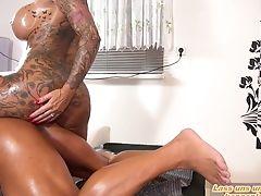 German First-timer Wifey Big Tits Tattoo Mummy Seduced Cheat On
