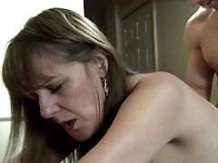 Pierced Matures Muff Is Soaking Raw For His Hard Dick