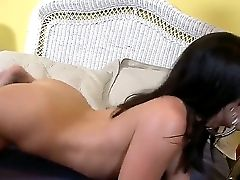 If You Wanna Some Raunchy Entertainment From Andy San Dimas, See How Rocco Reed Jams Her Crimson Cave Firstly, And She Interchanges His Mister Blessed