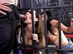 Hot Jail Threesome With Gabby Quinteros And Jessica Jaymes