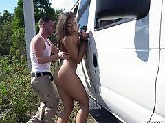 Nude Porno Leaves Hot Latina Creamed And Pleased