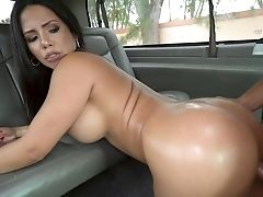 Back Seat Hard Bang-out For A Latina Wifey