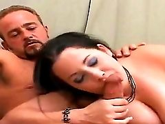Big-chested Dark-haired Bbw Devyn Give Head Before Getting Her Mellons Fucked With A Fat Dick
