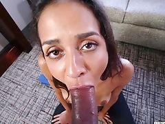 Latina Mummy Abby Lee Brazil On Her Knees Getting Fucked From Behind