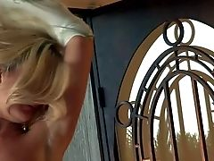 Spunky Golden Haired And Hot Caboose Adult Movie Star Tommie Jo Likes