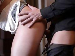 Dick Sucking Blonde Hankers To Gulp