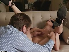 Erotic Fuck-a-thon With Blinded Blonde Bombshell Misha Mynx