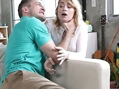 Pallid Blondie Anastasia Knight Gets Disciplined For Stealing Wallet With Hard Fuck