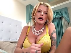 Tattooed Joslyn James Railing A Dick In Switch Sides Cowgirl In Point Of View Movie