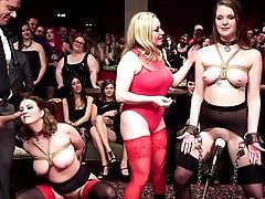 Big Tittied Hooker Aiden Starr Gets Her Twat Penalized In Public Place