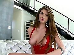 Sparkling Karina Milky Showcases Big Tits And Gets A Internal Ejaculation On Valentines Day