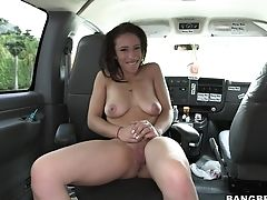 Buxom Doll Loves Her Very First Bang Bus Practice So Much