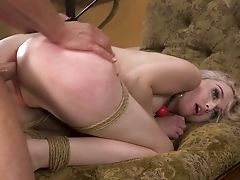 Non-traditional Bf Ties Up And Fucks Pink Pucker Of Pretty Hot Nubile Lexi Lore