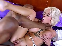 Amazing Moments Of Interracial Xxx With Harlow Harrison