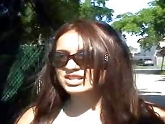 Celeste Is Another Attractive Amateyr Lady With Charing Smile, Brown-haired