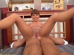 Nubile Gives Greasy Nuru Rubdown