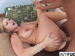 Huge-chested Avy Takes On Nick Manning