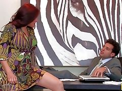 Sheila Marie Is As Smoking Hot Office Mummy With Amazing
