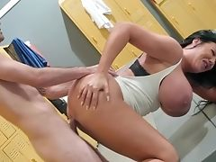 Mommy Fucked Like A Whore And Doesn't Mind The Sperm On Her Face