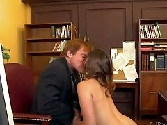 Allie Laugh At Is A Fresh Assistant Who Does Her Best