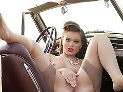 Steamy Nude Views Of Lana Rhoades's Fine Assets