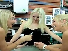 Nikki, Sammie Rhodes And Rebecca Blue Are Three Playful Milky