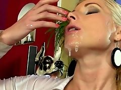 Juices On Face For Pissy Tramp In Need For Pornography