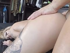 Lovely Hoe Aris Dark Treats Herself To Nacho Vidal's Meat Stick