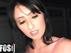 Mofos - Petite Tit Nubile Daphne Dare Makes Point Of View Sextape