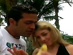 Rich Man Tony Tigrao Is Getting Her Fuck-stick Sucked At The Pool, Cock-squeezing Behind His Big Palace By The Sweet Stunner Camile, That For Sure Is