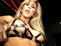 Vapid Chested Bottom Gets Disciplined Good By Her Big Boobed Mistress
