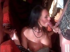 Lovemaking Obsessed Beauty Alektra Blue Bares Her Ideal Tits And
