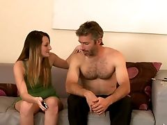 Cutie Missy Sweet Improves Her Dick Blowing Abilities To Perfection