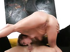 Sandy-haired Jimmy Legend Gives Providing Oral Pleasure To Her Hot Bang Mate